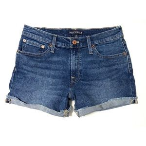 J. Crew Mercantile Cut Off Rolled Cuffs Shorts